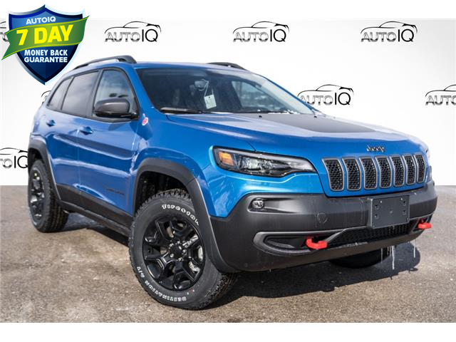 2021 Jeep Cherokee Trailhawk (Stk: 34761) in Barrie - Image 1 of 26