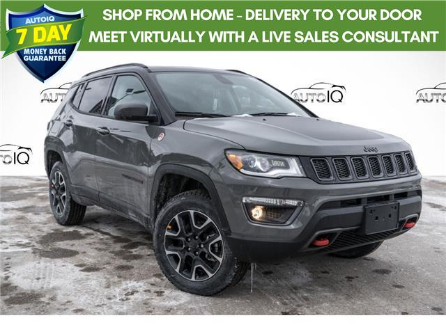 2021 Jeep Compass Trailhawk (Stk: 34791) in Barrie - Image 1 of 21