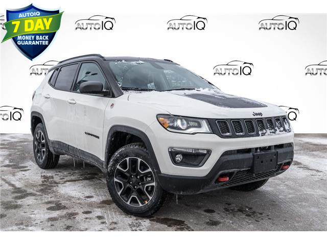 2021 Jeep Compass Trailhawk (Stk: 34792) in Barrie - Image 1 of 25