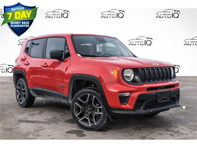 2021 Jeep Renegade Sport (Stk: 34753) in Barrie - Image 1 of 25