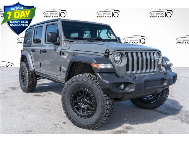 2021 Jeep Wrangler Unlimited Sport (Stk: 34269) in Barrie - Image 1 of 19