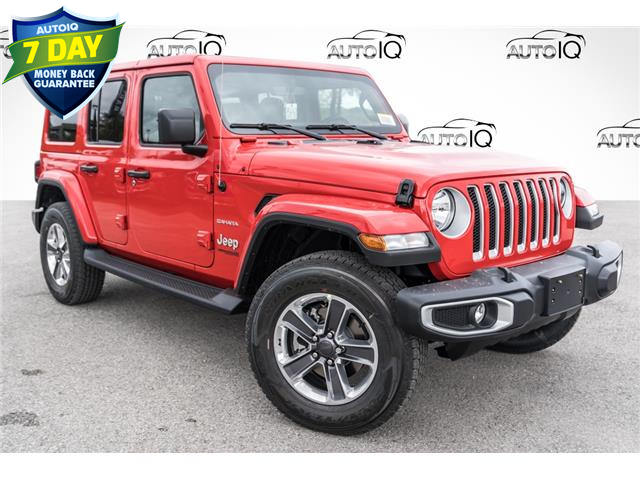 2021 Jeep Wrangler Unlimited Sahara (Stk: 35447) in Barrie - Image 1 of 25