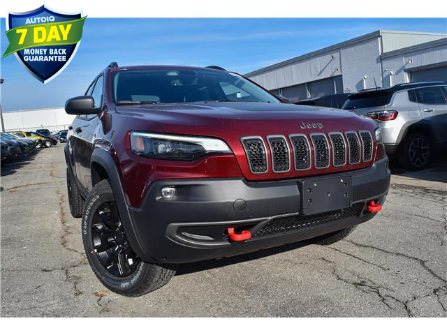 2020 Jeep Cherokee Trailhawk (Stk: 95408) in St. Thomas - Image 1 of 27