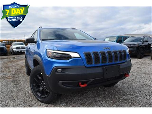 2020 Jeep Cherokee Trailhawk (Stk: 95438) in St. Thomas - Image 1 of 28