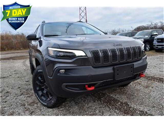 2020 Jeep Cherokee Trailhawk (Stk: 95510) in St. Thomas - Image 1 of 28