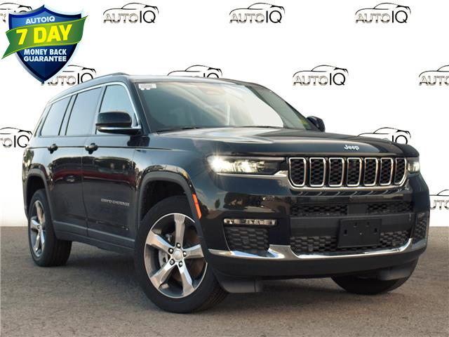 2021 Jeep Grand Cherokee L Limited (Stk: 97501) in St. Thomas - Image 1 of 28