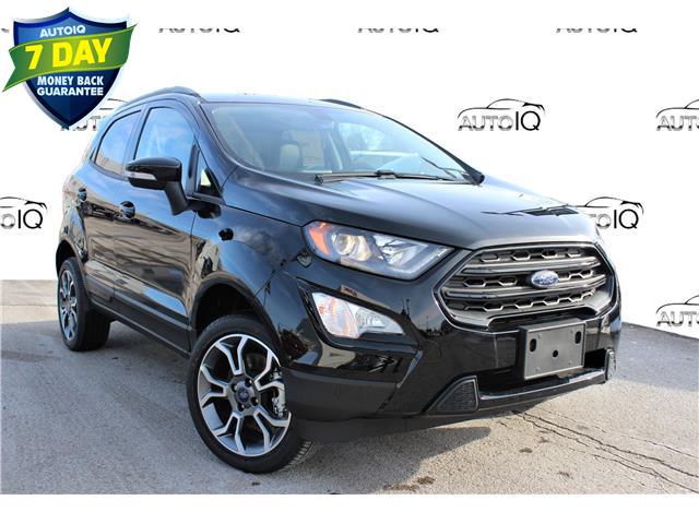 2020 Ford EcoSport SES Black