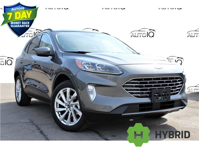 2021 Ford Escape Titanium Hybrid Grey