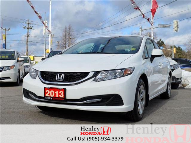 2013 Honda Civic LX BLUETOOTH HEATED SEATS (Stk: B0650) in St. Catharines - Image 1 of 13