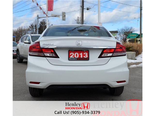 2013 Honda Civic LX BLUETOOTH HEATED SEATS (Stk: B0650) in St. Catharines - Image 5 of 13