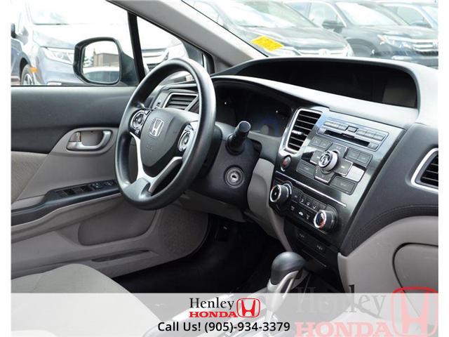 2013 Honda Civic LX BLUETOOTH HEATED SEATS (Stk: B0650) in St. Catharines - Image 8 of 13