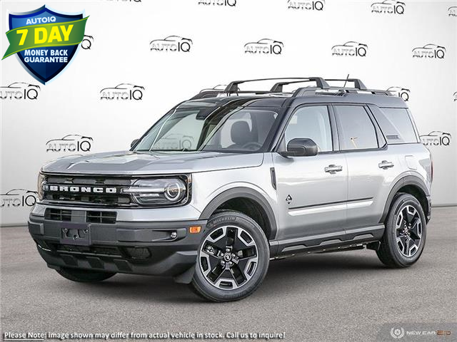 2021 Ford Bronco Sport Outer Banks (Stk: BD008) in Sault Ste. Marie - Image 1 of 23