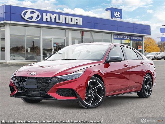 2021 Hyundai Elantra N Line (Stk: 60871) in Kitchener - Image 1 of 23
