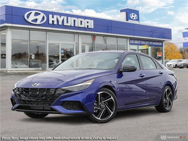 2021 Hyundai Elantra N Line (Stk: 60937) in Kitchener - Image 1 of 23