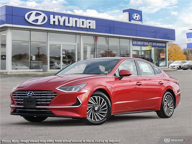 2021 Hyundai Sonata Hybrid Ultimate (Stk: 61092) in Kitchener - Image 1 of 23