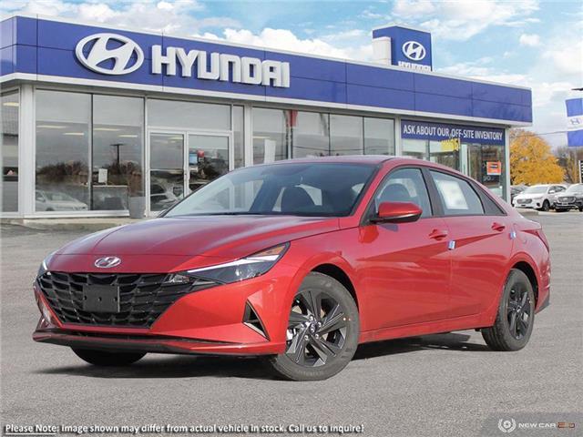 2021 Hyundai Elantra Preferred w/Sun & Tech Pkg (Stk: P61327) in Kitchener - Image 1 of 23