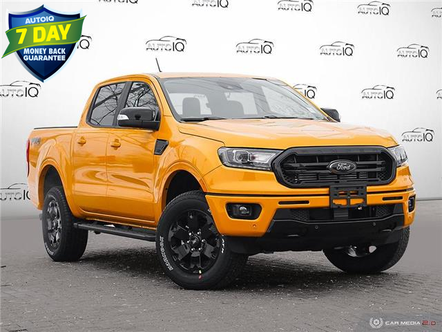 2021 Ford Ranger Lariat Orange