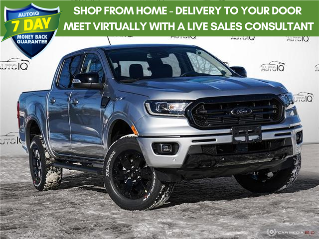 2021 Ford Ranger Lariat (Stk: W0088) in Barrie - Image 1 of 27