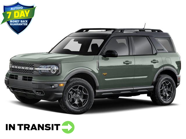2021 Ford Bronco Sport Big Bend (Stk: W0112) in Barrie - Image 1 of 2