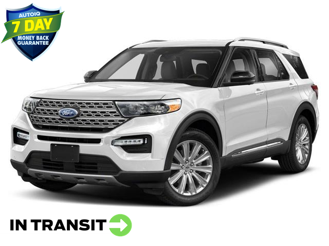 2021 Ford Explorer Platinum (Stk: W0209) in Barrie - Image 1 of 9