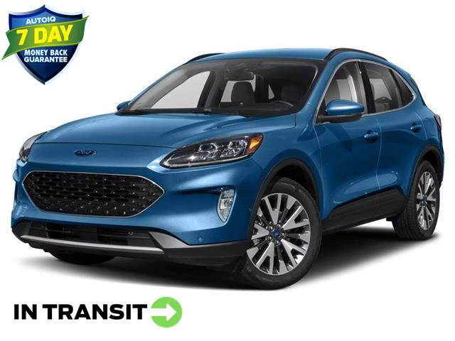 2021 Ford Escape Titanium Hybrid (Stk: W0151) in Barrie - Image 1 of 9