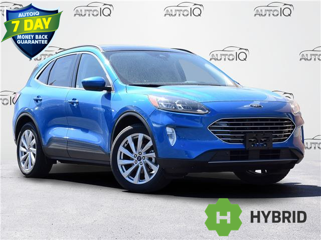 2021 Ford Escape Titanium Hybrid (Stk: ZC475) in Waterloo - Image 1 of 20