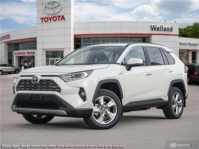 2021 Toyota RAV4 Hybrid Limited (Stk: M7481) in Welland - Image 1 of 23