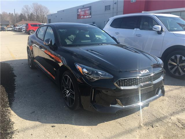 2022 Kia Stinger GT Elite w/Black Interior (Stk: K22000) in Listowel - Image 1 of 11