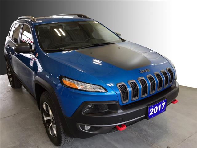 2017 Jeep Cherokee Trailhawk (Stk: S21141A) in Stratford - Image 1 of 21