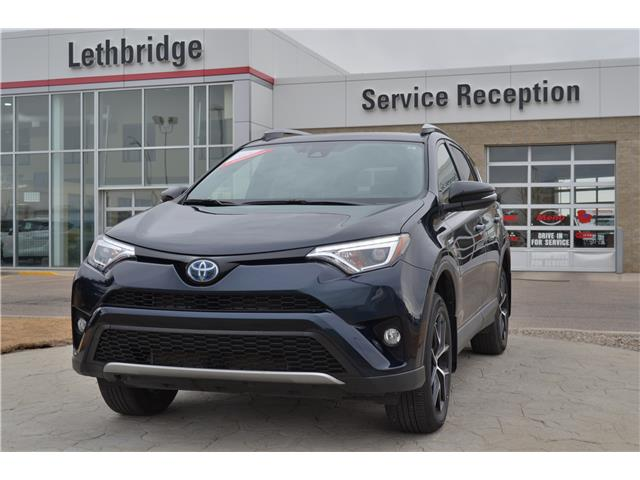 2018 Toyota RAV4 Hybrid  (Stk: UT7522D) in Lethbridge - Image 1 of 28