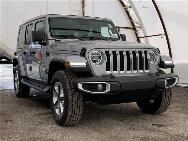 2021 Jeep Wrangler Unlimited Sahara (Stk: 210107) in Ottawa - Image 1 of 44