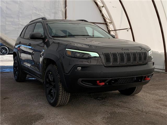 2021 Jeep Cherokee Trailhawk (Stk: 210188) in Ottawa - Image 1 of 41
