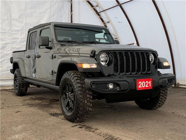 2021 Jeep Gladiator Sport S (Stk: 210195) in Ottawa - Image 1 of 40