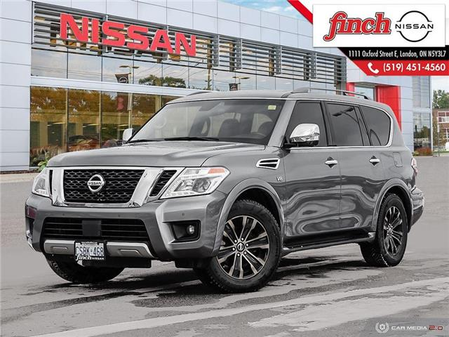 2017 Nissan Armada Platinum (Stk: 5629) in London - Image 1 of 27