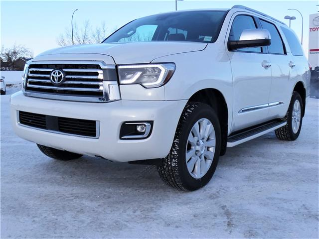 2021 Toyota Sequoia Platinum (Stk: SQM073) in Lloydminster - Image 1 of 25