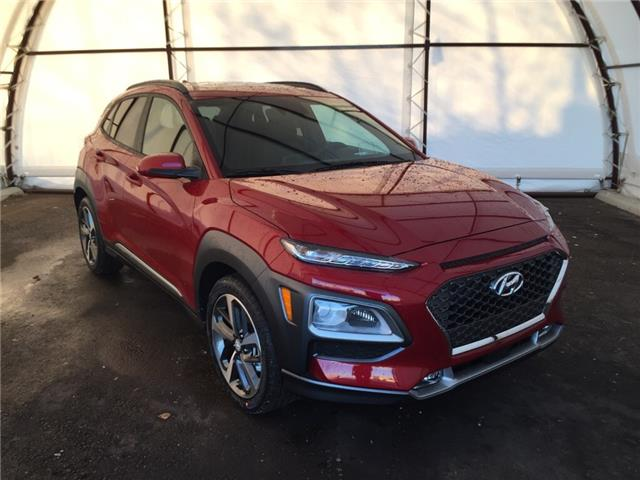 2021 Hyundai Kona 1.6T Ultimate w/Red Colour Pack (Stk: 17325) in Thunder Bay - Image 1 of 19