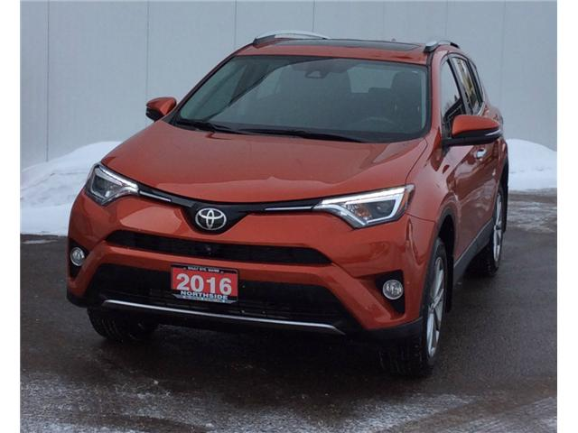 2016 Toyota RAV4 Limited (Stk: P4715) in Sault Ste. Marie - Image 1 of 5