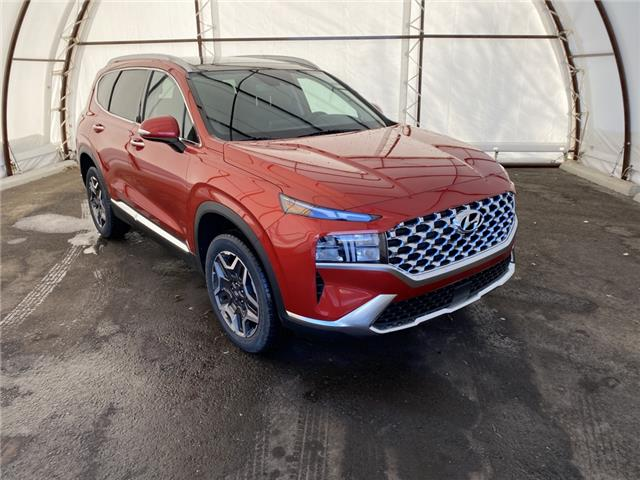 2021 Hyundai Santa Fe HEV Luxury (Stk: 17418) in Thunder Bay - Image 1 of 20