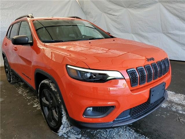 2021 Jeep Cherokee North (Stk: 211092) in Thunder Bay - Image 1 of 15