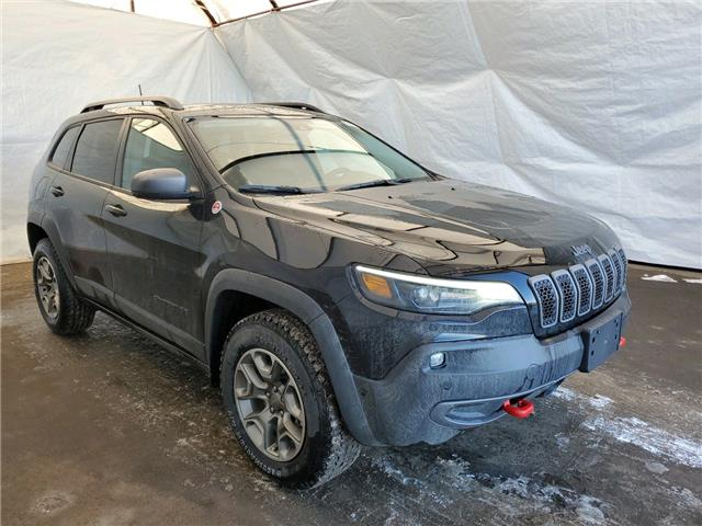2021 Jeep Cherokee Trailhawk (Stk: 211111) in Thunder Bay - Image 1 of 17
