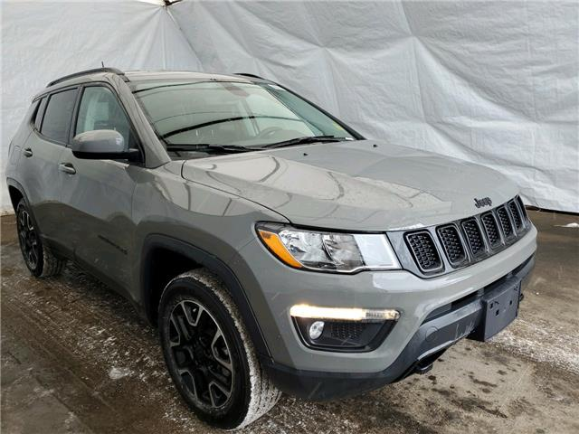 2021 Jeep Compass Sport (Stk: 211102) in Thunder Bay - Image 1 of 16