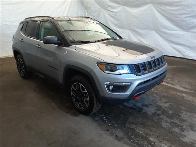 2021 Jeep Compass Trailhawk (Stk: 211181) in Thunder Bay - Image 1 of 18