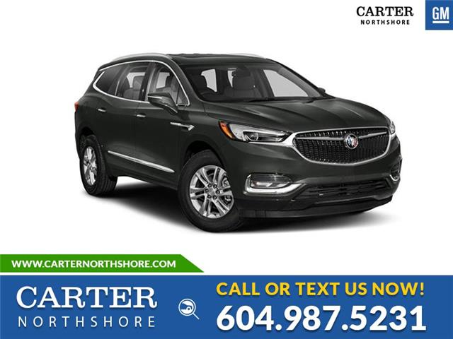 New 2021 Buick Enclave Essence 7-PASSENGER SEATS - NAVIGATION - MOONROOF - North Vancouver - Carter GM North Shore