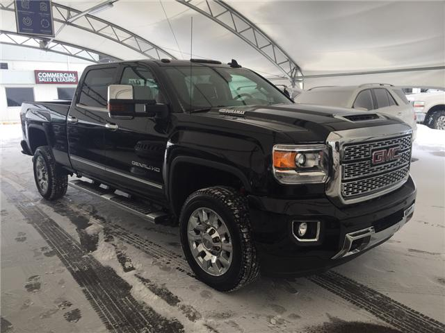 2018 GMC Sierra 2500HD Denali (Stk: 160152) in AIRDRIE - Image 1 of 25