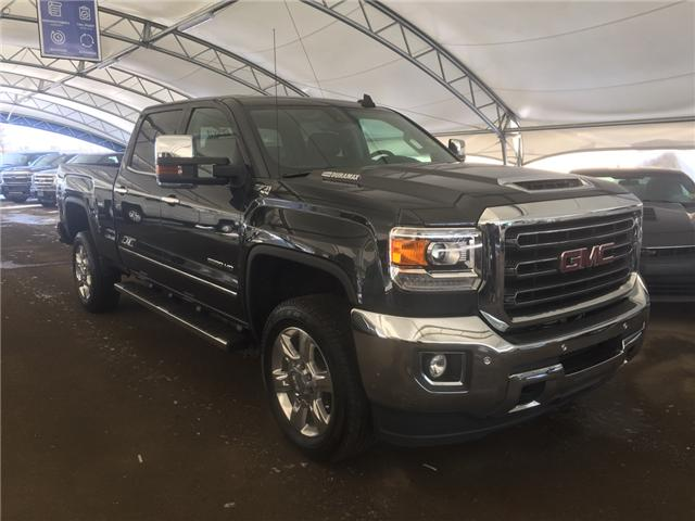2018 GMC Sierra 2500HD SLT (Stk: 159023) in AIRDRIE - Image 1 of 24