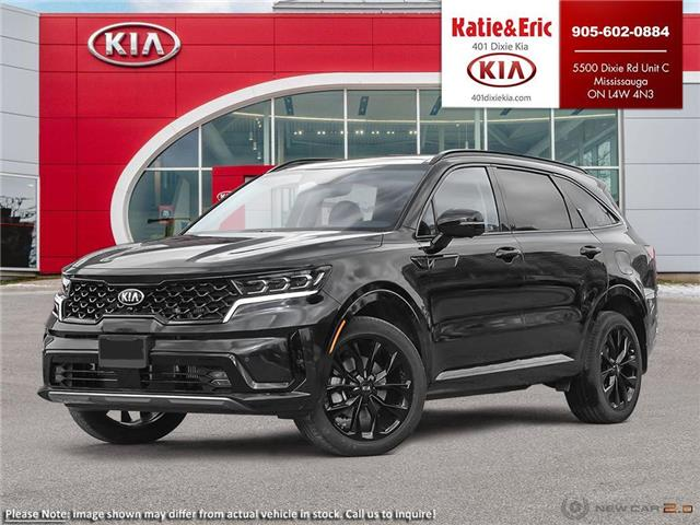 2021 Kia Sorento 2.5T SX w/Black Leather (Stk: SO21028) in Mississauga - Image 1 of 25
