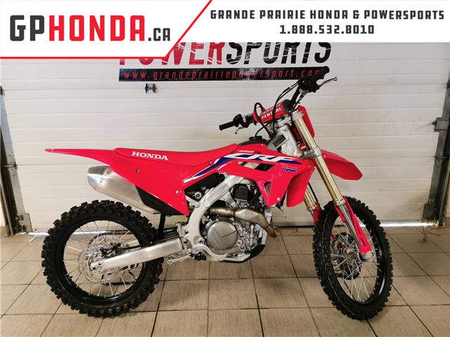 2021 Honda CRF450R COMPETITION (Stk: 21HD-034) in Grande Prairie - Image 1 of 3