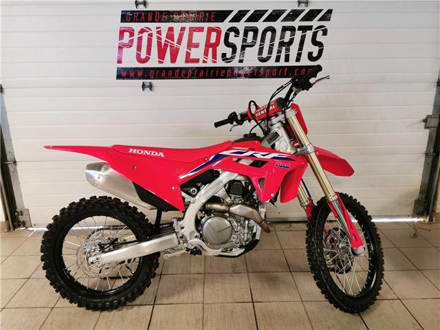2021 Honda CRF450R COMPETITION (Stk: 21HD-035) in Grande Prairie - Image 1 of 3