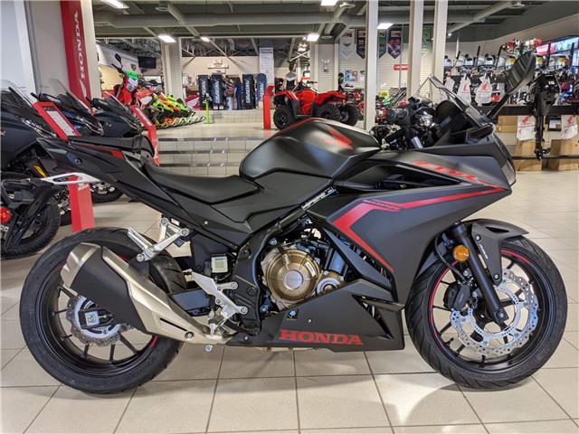 2021 Honda CBR500R ABS (Stk: 21HS-019) in Grande Prairie - Image 1 of 4