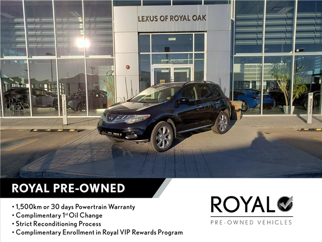 2013 Nissan Murano SV (Stk: L20535A) in Calgary - Image 1 of 22
